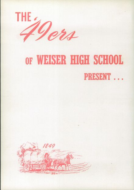 1949 Weiser High School Yearbook Page 8