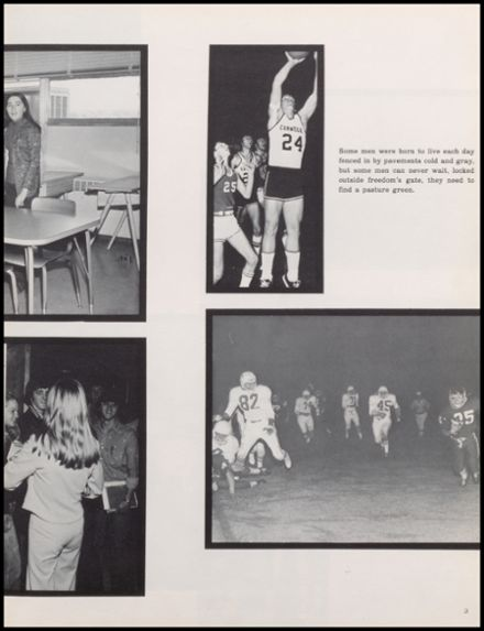 1975 Carnegie High School Yearbook Page 7