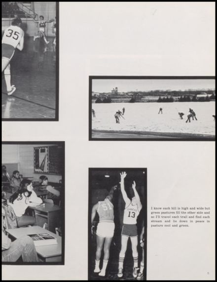 1975 Carnegie High School Yearbook Page 9