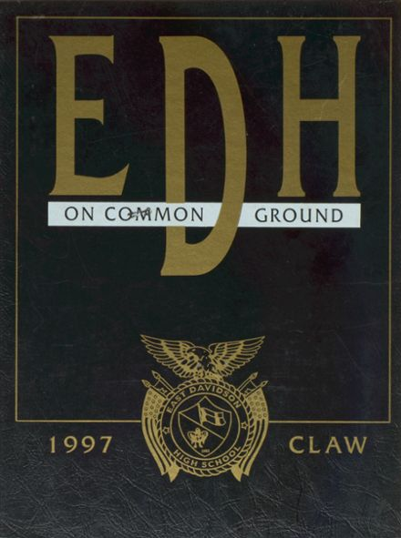 1997 East Davidson High School Yearbook Cover