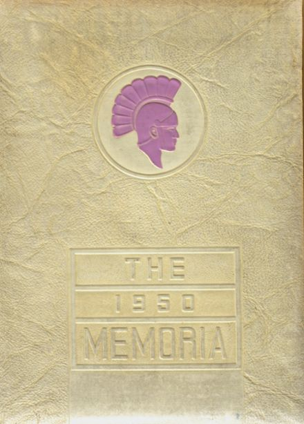 1950 Tremont High School Yearbook Cover