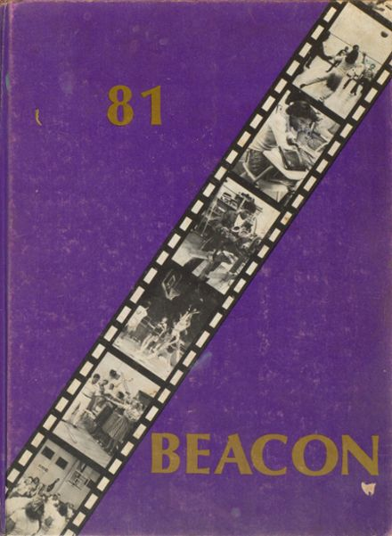 1981 Bowling Green High School Yearbook Cover