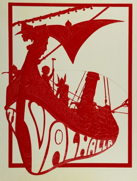 1971 Valley High School Yearbook Cover
