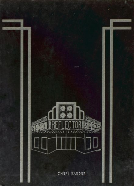 1981 Maumee High School Yearbook Cover