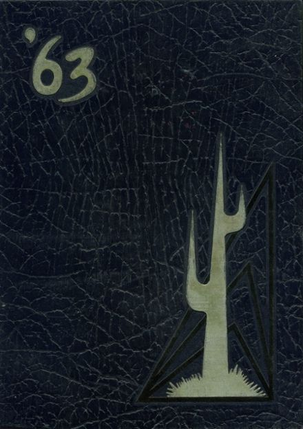 1963 Yuma Union High School Yearbook Cover
