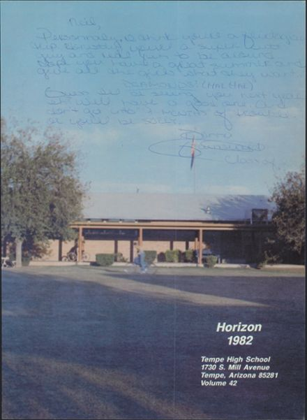 1982 Tempe High School Yearbook Page 5