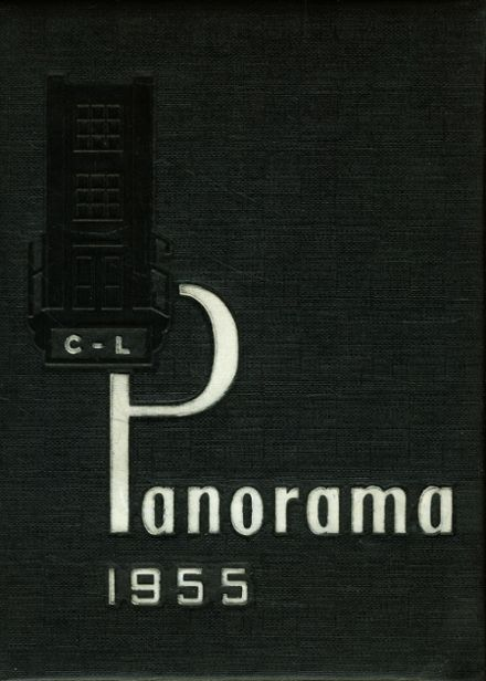 1955 Clarion-Limestone High School Yearbook Cover