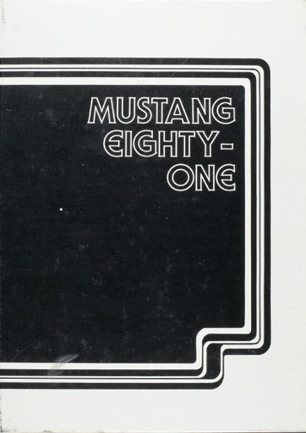 1981 Shallowater High School Yearbook Cover