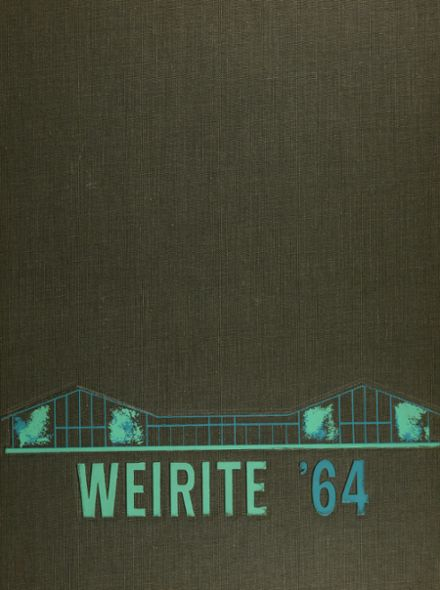 1964 Weir High School Yearbook Cover