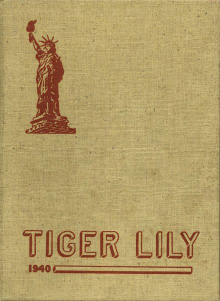 1940 Port Allegany High School Yearbook Cover