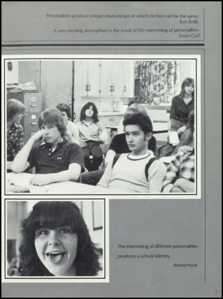 1982 Levittown Memorial High School Yearbook Page 9