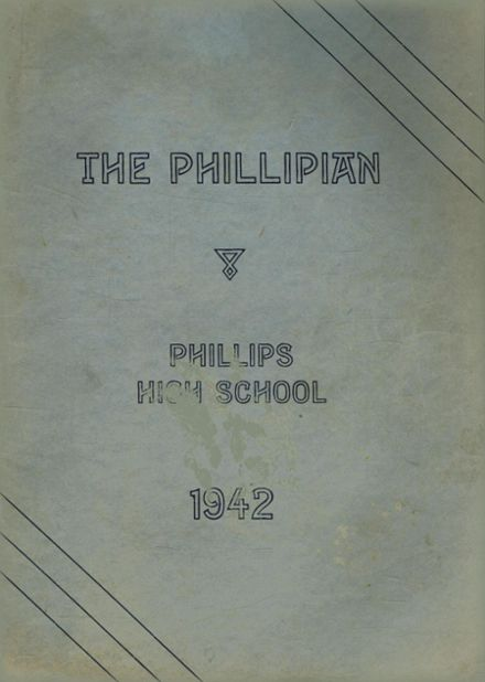 1942 Phillips High School Yearbook Page 1