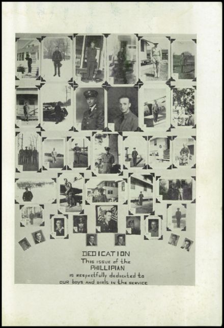 1942 Phillips High School Yearbook Page 3