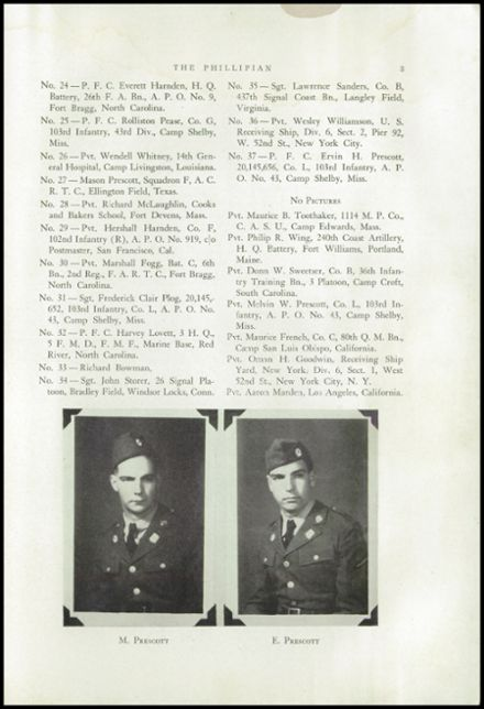1942 Phillips High School Yearbook Page 5