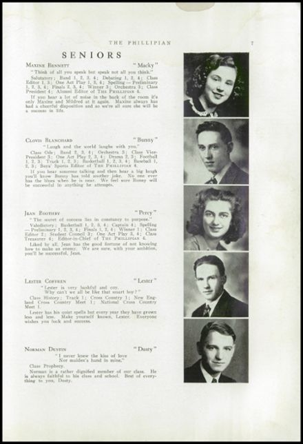 1942 Phillips High School Yearbook Page 9