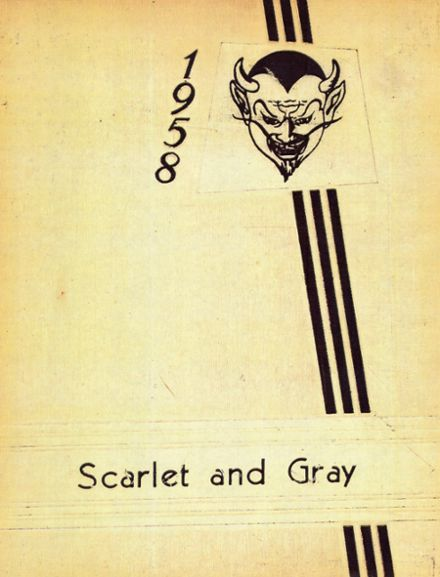 1958 West Lafayette High School Yearbook Cover