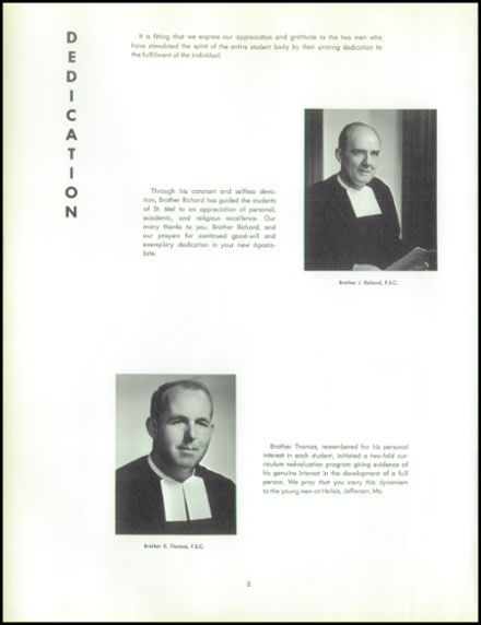 1964 St. Mel High School Yearbook Page 6