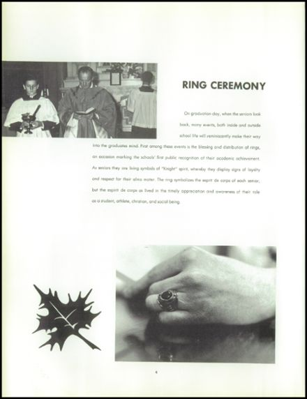 1964 St. Mel High School Yearbook Page 8