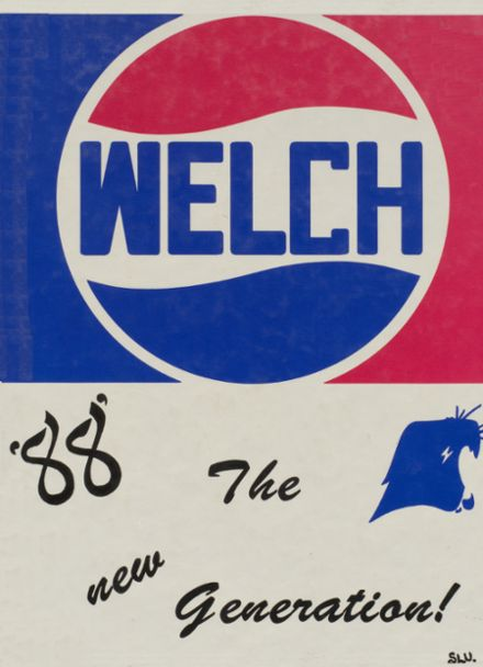 1988 Welch High School Yearbook Cover
