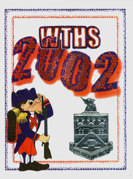 2002 Washington Township High School Yearbook Page 1