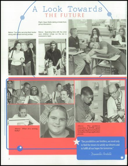 2002 Washington Township High School Yearbook Page 6