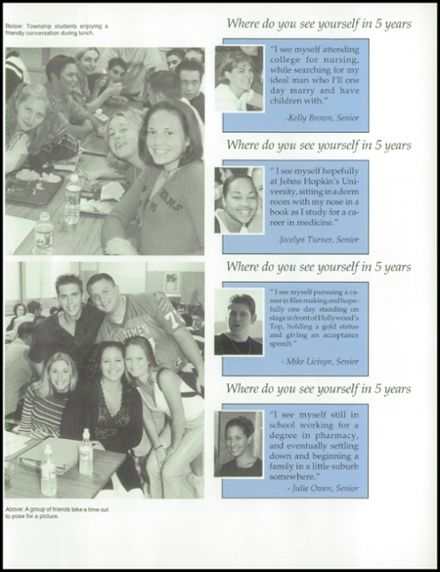 2002 Washington Township High School Yearbook Page 7