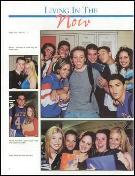 2002 Washington Township High School Yearbook Page 8