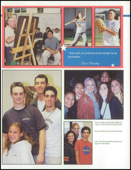 2002 Washington Township High School Yearbook Page 9