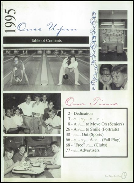 1995 Lutheran High School Yearbook Page 5