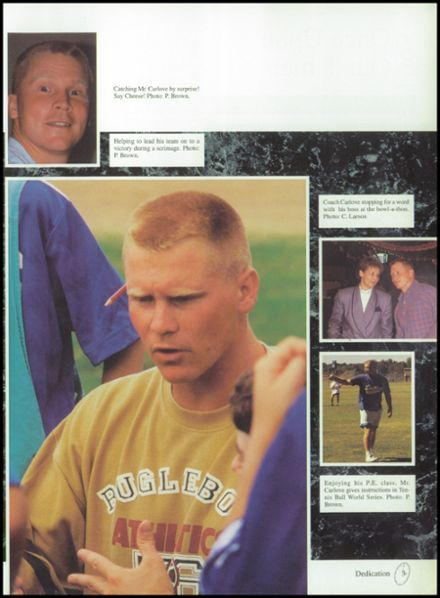 1995 Lutheran High School Yearbook Page 7