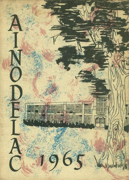 1965 Caledonia-Mumford Central High School Yearbook Cover