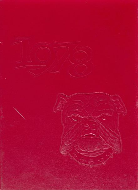 1978 Forsyth Central High School Yearbook Cover
