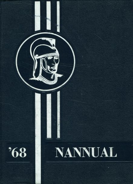 1968 Greater Nanticoke Area High School Yearbook Cover