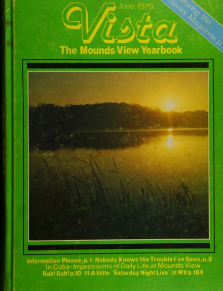 1979 Mounds View High School Yearbook Cover