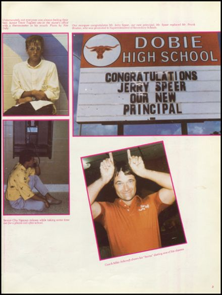 Explore 1987 Dobie High School Yearbook Houston Tx Classmates