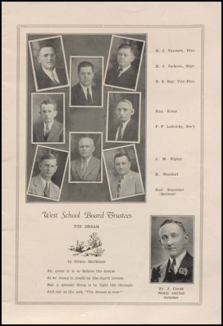 1935 West High School Yearbook Page 3