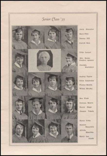 1935 West High School Yearbook Page 5