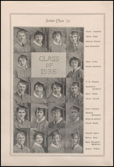 1935 West High School Yearbook Page 6