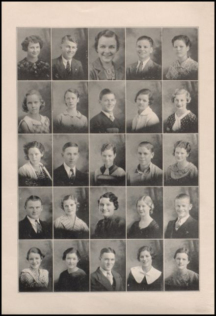 1935 West High School Yearbook Page 8