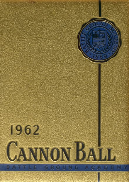 1962 Battle Ground Academy Yearbook Cover
