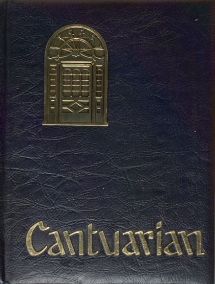 1970 Canterbury High School Yearbook Cover