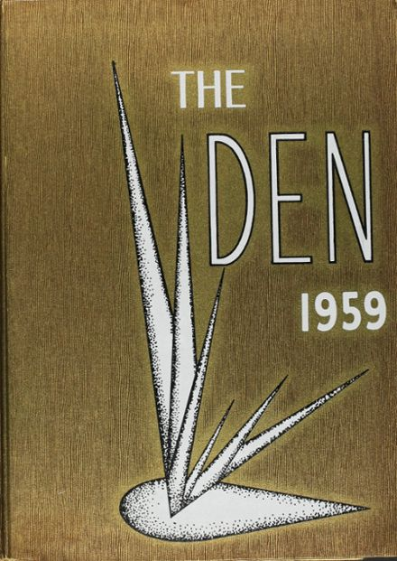 1959 South Oak Cliff High School Yearbook Cover
