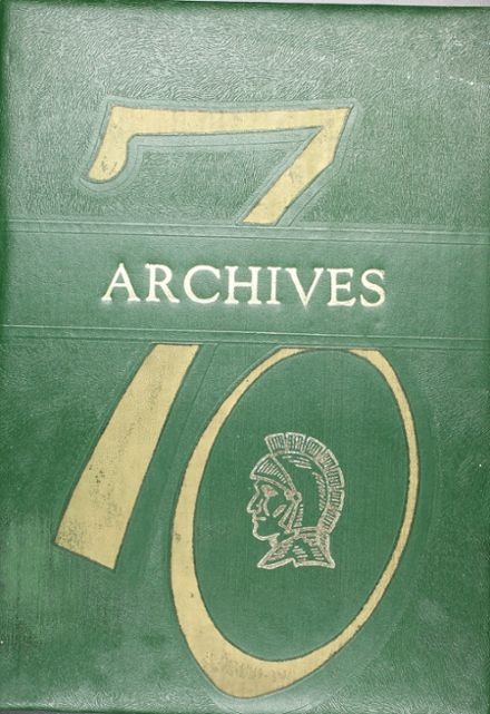 1970 Madison High School Yearbook Cover