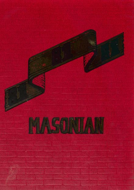 1981 Mason High School Yearbook Cover