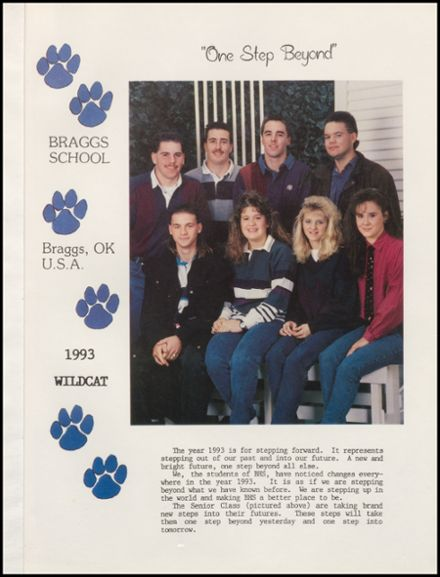 1993 Braggs High School Yearbook Page 5