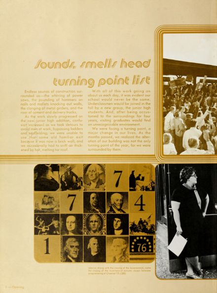 1977 Heritage High School Yearbook Page 6