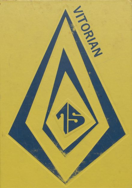 1975 V.I.T. High School Yearbook Cover