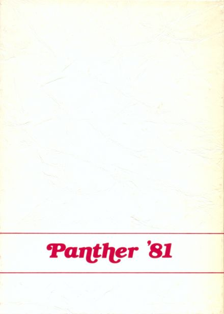 1981 Stigler High School Yearbook Cover