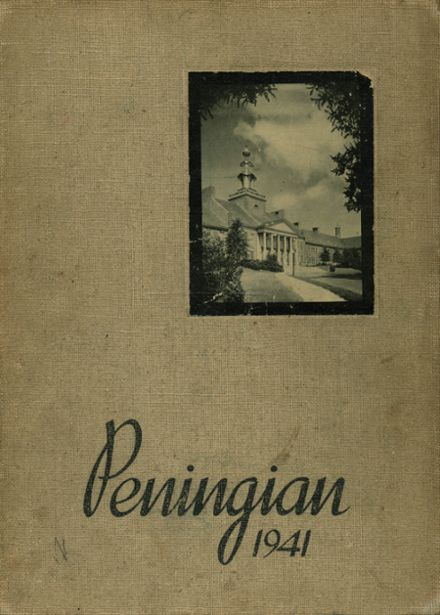 1941 Port Chester High School Yearbook Cover