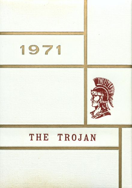 1971 Coldspring High School Yearbook Cover